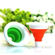 HotSelling Excellent Practical KitchenTool Gel Gadget Silicone Foldable Funnel g