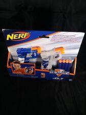 NERF N-STRIKE JOLT Micro Size MEGA POWER VHTF 2 Pack Blue / Clear BRAND NEW BNIP
