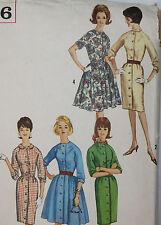 Vintage Simplicity Sewing Pattern Dress 60s Mod Retro Rockabilly Swing #5036 14