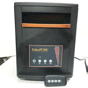 EdenPURE GEN3 1500w Quartz Infrared Portable Space Heater A3705 W/Remote EC