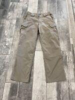 5.11 511 Tactical Series Mens Law Enforcement Cargo Pants 30x30 Khaki 74369