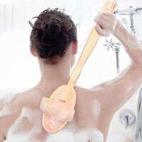 Hydrea Professional Dry Skin Body Brush Stiff Cactus Bristles - Extra Firm New