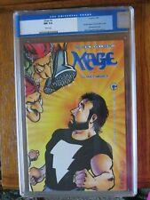 Comica: Mage #6/CGC 9.4 /1985/Grendel begins, 1st Grendel in color.