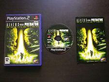 JEU Sony PLAYSTATION 2 PS2 ALIENS versus PREDATOR EXTINCTION (Fox COMPLET suivi)