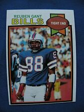 1979 Topps Reuben Gant Bills card #358 $1 S&H NFL football