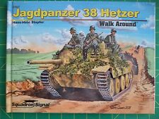 Jagdpanzer 38 Hetzer  German Tank -- Squadron/Signal No. 67027 HARDCOVER