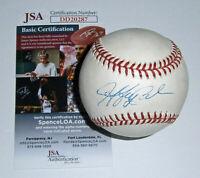 BREWERS Jeff Cirillo signed AL baseball AUTO JSA COA Autographed Milwaukee