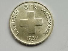 L2239   SCHWEIZ 5,- Franken 1939 LAUPEN selten !!! TOP !!!