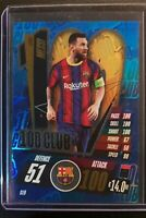 2020/21 Match Attax UEFA Champions League - Lionel Messi 100 Club Barcelona CL9