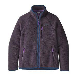 Patagonia Men's Retro Pile Fleece Jacket -Piton Purple Size XL