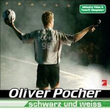 """OLIVER POCHER """"SCHWARZ UND WEISS"""" CD 2 TRACK SINGLE NEU"""