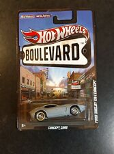 Hot Wheels Boulevard Ford Shelby GR 1 Concept