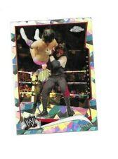 2014 TOPPS WWE KANE CRACKED ICE CHROME PARALLEL REFRACTOR WRESTLING CARD #28