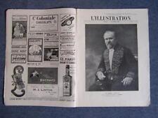 L'ILLUSTRATION 3485  11/12/1909 HOTEL VENTES DROUOT : GUILLOTINE DE LA TERREUR