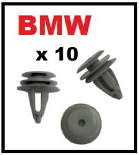10 x BMW Series 1 and 3 Trim Clips for Interior Door Cards Panels and Fascia