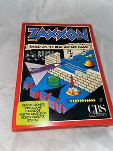 Atari 2600 VCS Original Zaxxon Open Box Cartridge Video Game 1982