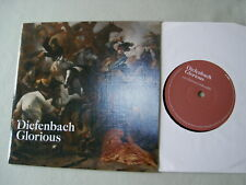 "DIEFENBACH Glorious (Radio Edit)/Travel The World 7"" vinyl single"