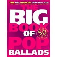 The Big Book Of Pop Ballads - Songbook Klavier, Gesang & Gitarre Noten