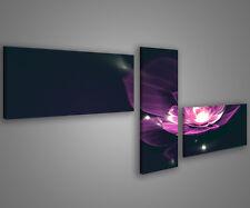 Quadri moderni astratti 180 x 70 stampe su tela canvas con telaio MIX-S_59
