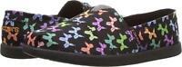Skechers Kids Girl's Solestice Doggy Dreamin' Black Slip-on Shoes 85292L/BKMT