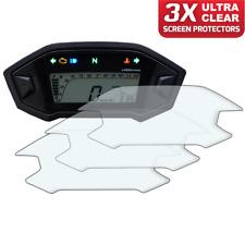 3 x Honda MSX125 GROM Dashboard Screen Protector: Ultra-Clear