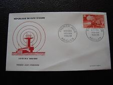 COTE D IVOIRE - enveloppe 1er jour 13/12/1969 (B2) (Y)