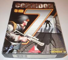 Corridor 7 Alien Invasion Big Box Complete PC IBM Vintage 1994 Wolfenstein 3D CD