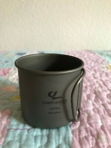 Outdoor Camping Wasser Cup Travel Kaffeetasse 250ml Klappgriff