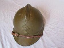 CASQUE ADRIAN 1915 MOUTARDE OFFICIER LEGION ETRANGERE ARMEE D'AFRIQUE