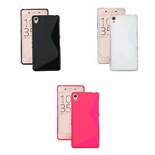 Case For Sony Xperia X S-Line Silicone Gel Skin Tough Shockproof Phone Cover