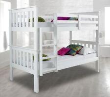 Modern Pine Beds with Mattresses