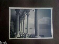 A1011 Photographie Originale Italie Lac de garde ancienne photo