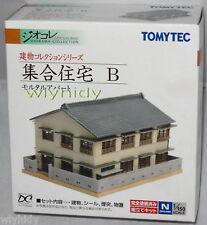 Apartment No.B N Scale 1:150 - Tomytec      ==