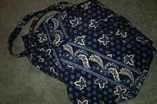 Vera Bradley Retired Blue Coin  XL Duffel Bag!