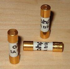 1,25a copia de seguridad ahp dorado 6,3x32mm finamente fusible letárgico slow blow Fuse