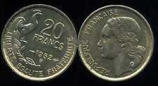 20  FRANCS G. GUIRAUD 1952 B    SUP++