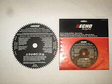 "69500120331 GENUINE ECHO 8"" 80 TOOTH BRUSH BLADE 20mm arbor SRM-210 SRM-265"