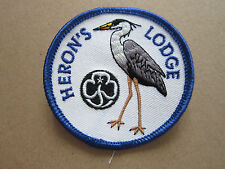 Heron's Lodge Girl Guides Cloth Patch Badge (L2K)