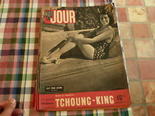 magazine hebdomadaire NUIT ET JOUR  n° 37 lily pons intime,  tchoung king 1945
