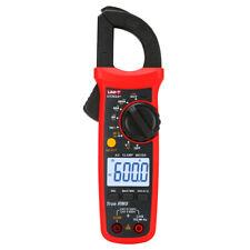 Uni T Ut202a Digital Clamp Meter Trms Ac Dc Ncv Multimeter Ohm Cap Freq Tester