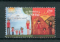 Mexico 2017 MNH World Population Day 1v Set Childrens Drawings Stamps