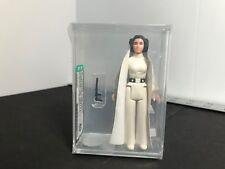 Vintage Star Wars 1977 Princess Leia Black Hair & Belt AFA 80 NO COO Fresh Grade