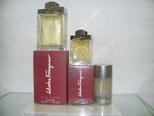 FERRAGAMO Pour Homme 3 Produkte E. Wc 30spr + after Shave 100ml + Deo 75
