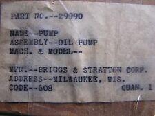 Briggs & Stratton Oil Pump  29990  Vintage
