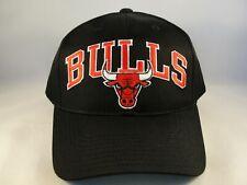 Chicago Bulls NBA Vintage Snapback Hat Cap Black