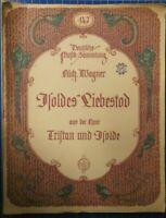 Deutsche Musik Sammlung 147 Rich.Wagner Isoldes Liebestod Globus Verlag H8214