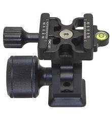 Desmond DMH-2 & 50mm DAC-X1 Clamp Tripod Tilt Head Arca /RRS Compatible Oversize