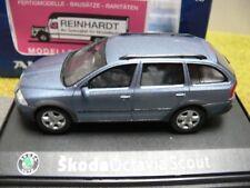 1/43 Abrex skoda Octavia Scout combi gris metalizado azul 55660
