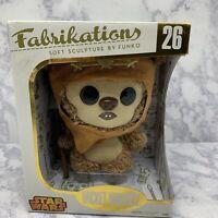 Funko Fabrikations Wicket Warrick Star Wars Soft Sculpture #26 Gold Box - New