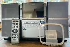⭐Panasonic 5-CD AM/FM Cassette TPS Stereo Bi-Amplified System w/Remote SA-PM18⭐